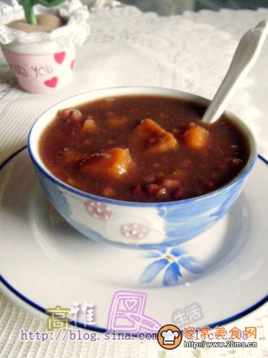 红豆番薯糖水的做法