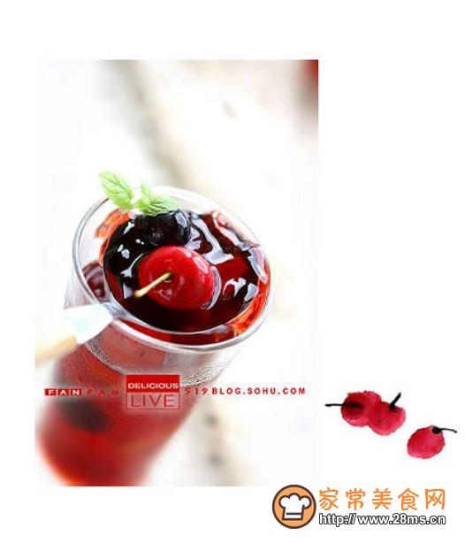 酒味果冻的做法