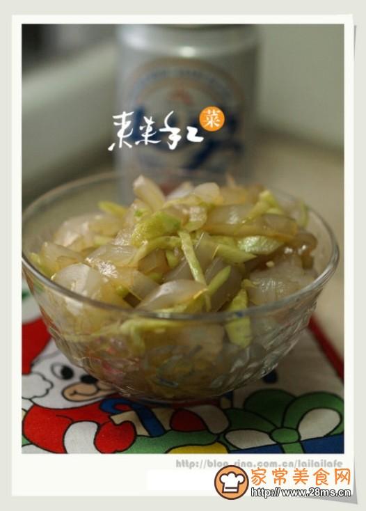 凉皮拌黄瓜的做法
