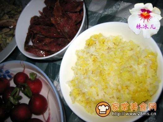 小米饭的做法