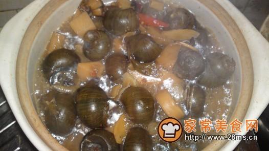 酸笋田螺煲的做法