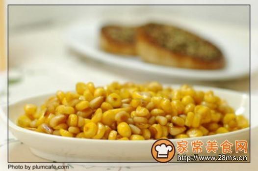 甜味松仁玉米的做法