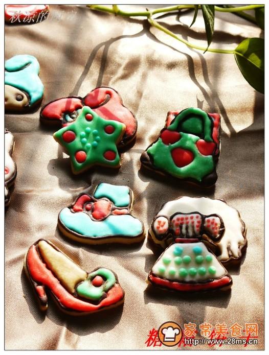 糖霜饼干的做法
