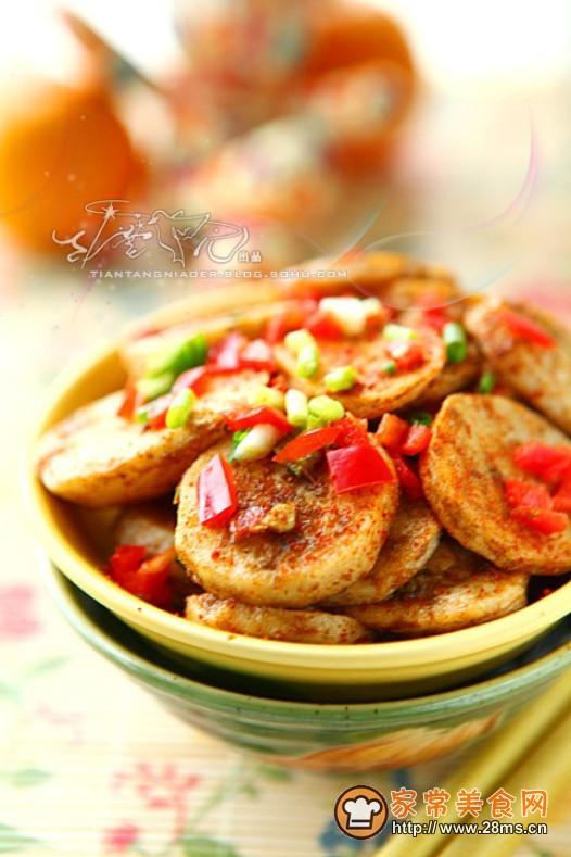 锅粑芋艿的做法