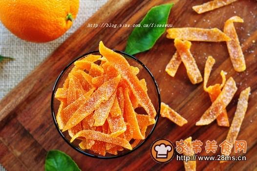 橙皮蜜饯的做法