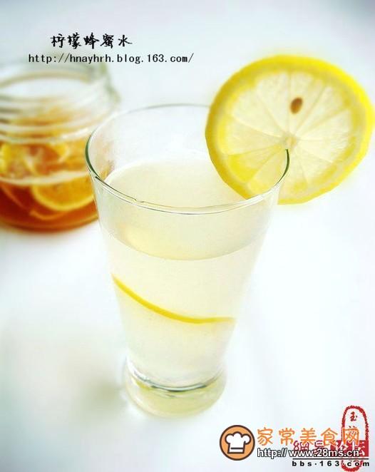 蜂蜜水的做法_怎麼做檸檬蜂蜜水_如何做檸檬蜂蜜 ...