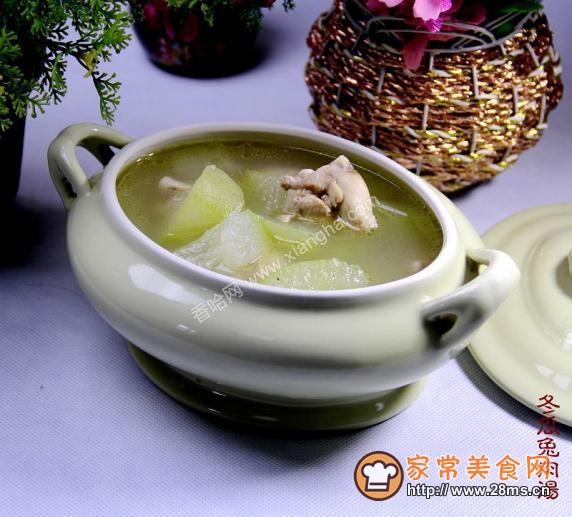 冬瓜兔肉汤的做法