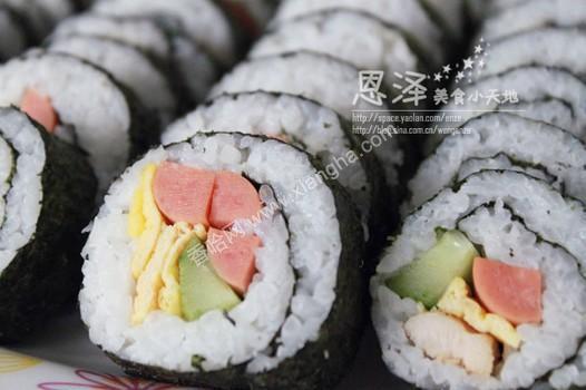 寿司制作步骤 材料