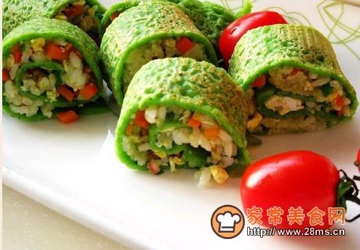五彩蔬菜卷的做法