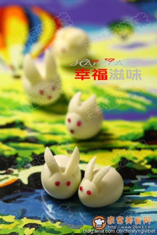 鸡蛋小白兔(2)的做法图片