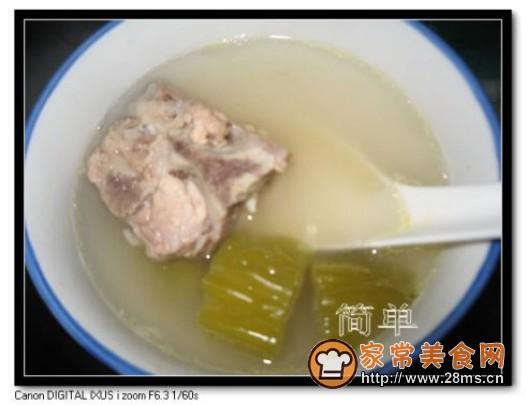 苦瓜 排骨汤/苦瓜排骨汤的的家常做法,苦瓜排骨汤怎么做好吃