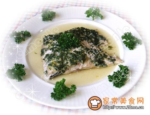 arsley烤三文鱼的做法