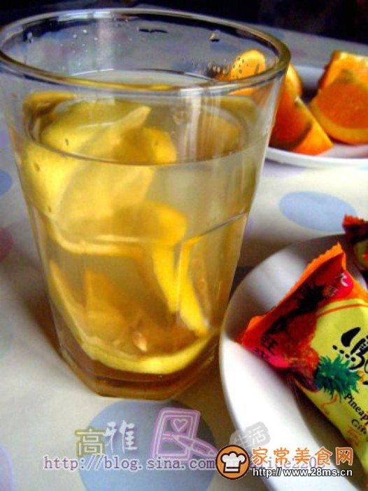 红糖柠檬水的做法