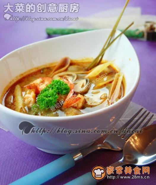 泰式酸辣酱怎么做_泰式冬阴功汤的家常做法 - 家常美食网