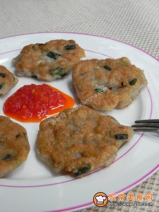 原味鲮鱼饼的做法