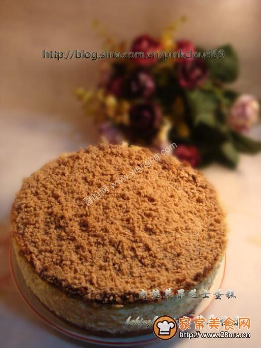 肉桂苹果芝士蛋糕的做法