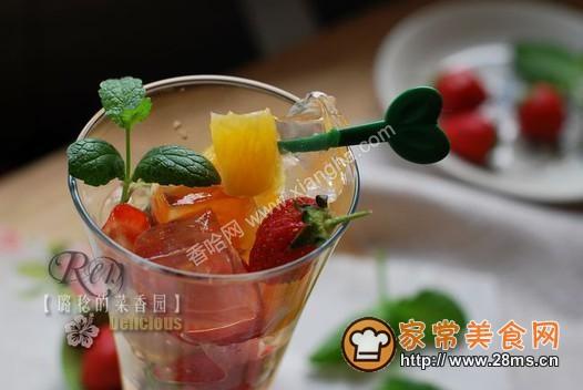 冰粉水果杯的做法