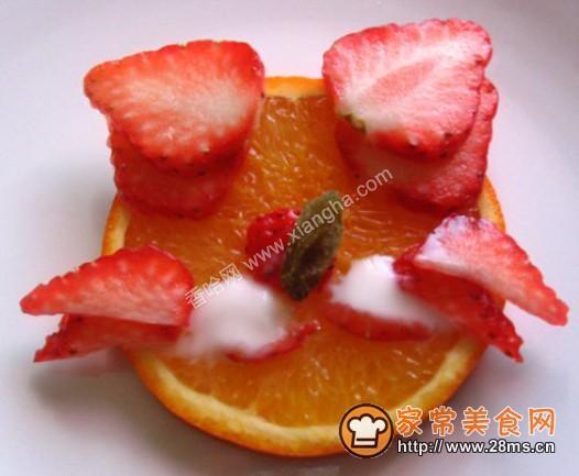草莓沙拉的做法