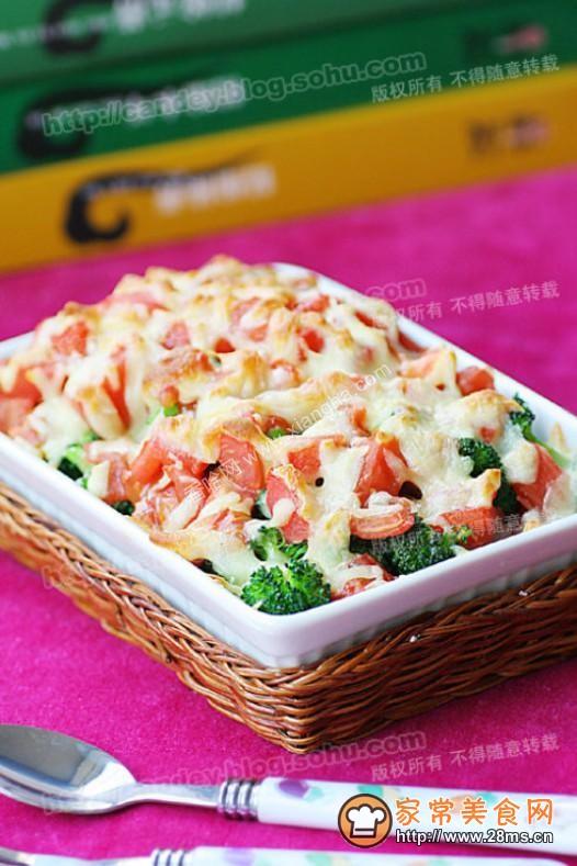 鳕鱼芝士鲜蔬饭的做法