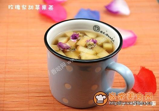 玫瑰柴胡苹果茶的做法