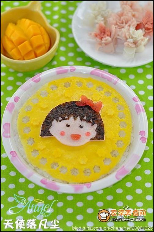 樱桃小丸子米饭的做法