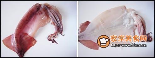 烤鱿鱼丝步骤1-2
