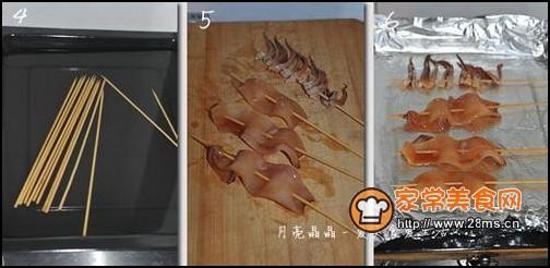 烤鱿鱼做法