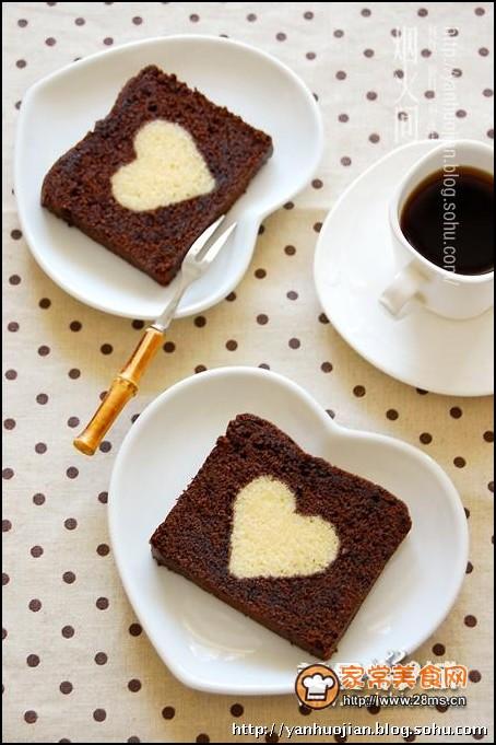 爱心/爱心巧克力蛋糕