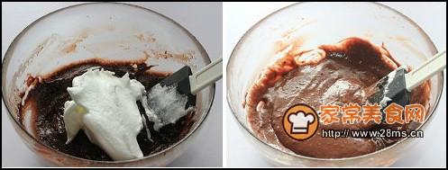 巧可力芒果蛋糕卷步骤5