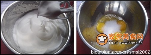 蛋糕卷步骤3-4