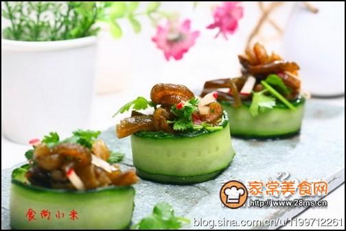 家常美食网 特色菜谱 凉菜菜谱 >凉拌南极海茸条的做法    家宴比较