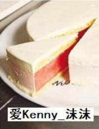 西瓜蛋糕的做法步骤6