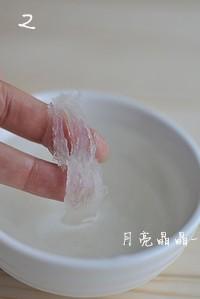 木瓜牛奶炖燕窝的做法步骤2