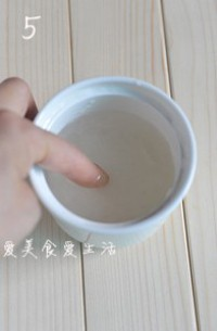 木瓜牛奶炖燕窝的做法步骤5
