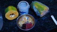 牛奶冰糖木瓜炖雪耳的做法步骤3