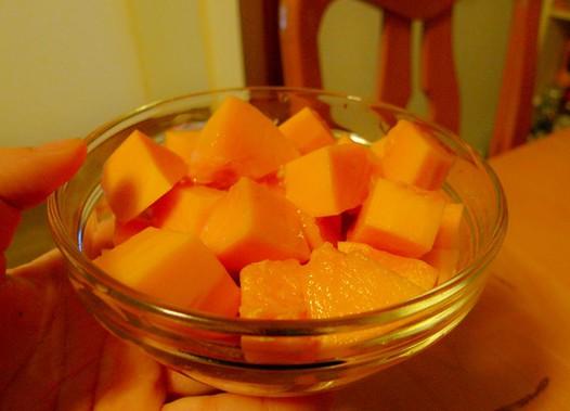 蜂蜜木瓜的做法