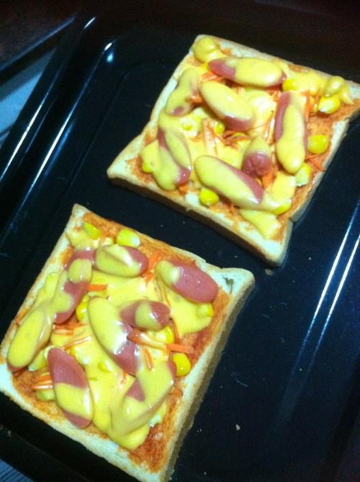 吐司芝士披萨的做法