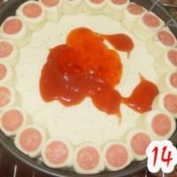 香酥虾花边披萨的做法步骤18