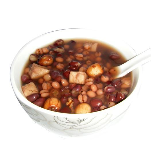 薏米红豆莲子茯苓粥的做法