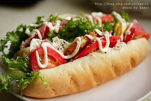 法式培根三明治的做法图片