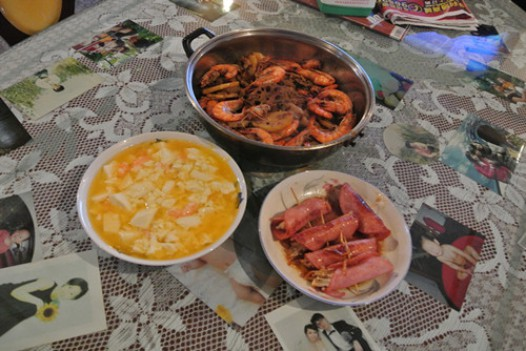 咸鸭蛋黄虾仁豆腐的做法