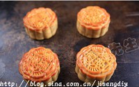 农家美味传统月饼的做法步骤10