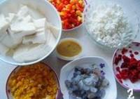 咸蛋豆花羹的做法步骤2