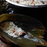 广式花生蛋黄粽的做法步骤8