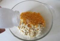 豆腐蛋黄翡翠包的做法步骤5