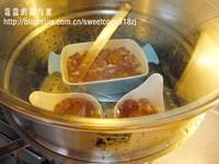 梨汁咸蛋黄蒸肉饼的做法步骤2
