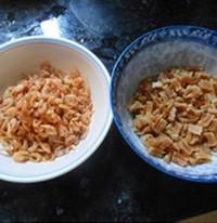 瑶柱花生蛋黄粽的做法步骤2