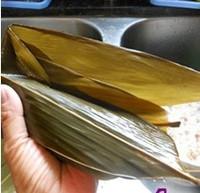 瑶柱花生蛋黄粽的做法步骤13