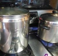 瑶柱花生蛋黄粽的做法步骤17
