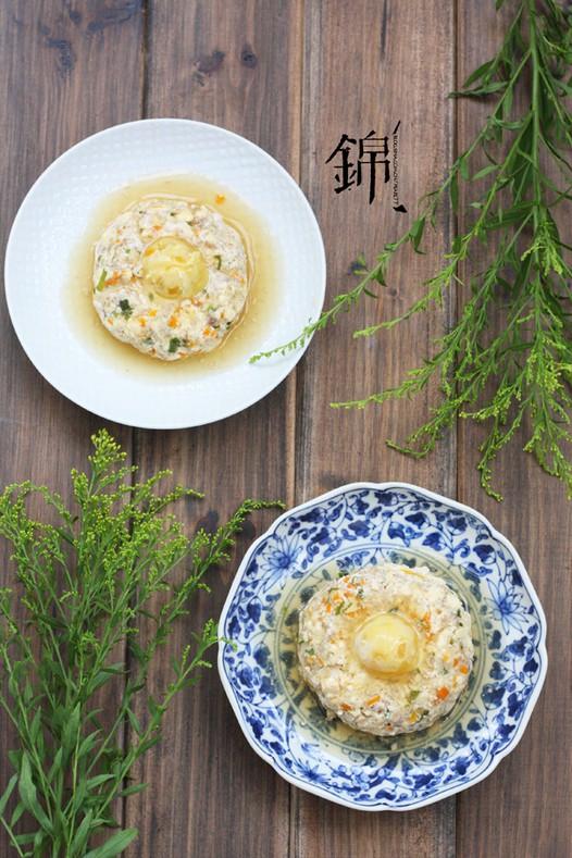 咸蛋豆腐蒸肉饼的做法